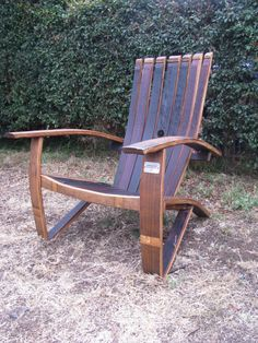 Wine Barrel Chair in San Diego
