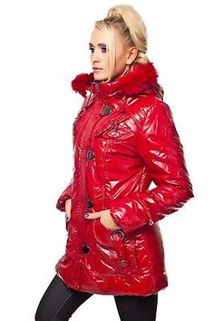 Michael kors mantel mit fell