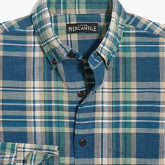 Crew Factory Homespun shirt in plaid Casual Shirts, Men's Shirts, Dress Shirts, Female Pirate Costume, Pirate Costumes, Mens Designer Shirts, Discount Mens Clothing, J Crew Style, Renaissance Clothing