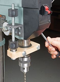 Drill Press Depth Stop | Woodsmith Plans