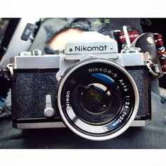 A gorgeous Nikomat here with 2.8 35mm lens