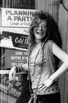 Janis Joplin, icono de la moda y la música
