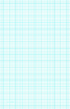 this ledger sized graph paper has four aqua blue lines every inch plus heavy index