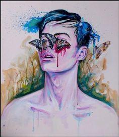 Kunstneren Natmir Lura Scratched