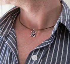 Celtic Mens Necklace - Knot Pendant Necklace