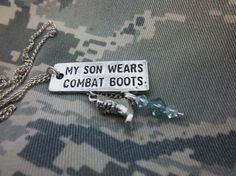 My son wear combat boots.. Proud Army Mom! Hooaah!