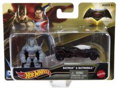 Mattel Warner Bros DC Comics Hot Wheels Batman v Superman: Dawn of Justice Series: Armored Batman Mighty Mini Figure & Batmobile Vehicle Figure Pack Mattel, Warner Bros & DC Comics 2016 http://www.amazon.com/Hot-Wheels-Batman-Superman-Batmobile/dp/B014AHKM24/ref=sr_1_1?s=toys-and-games&ie=UTF8&qid=1452024219&sr=1-1&keywords=Hot+Wheels+Batman+v+Superman%3A+Dawn+of+Justice+Armored+Batman+Mini+%26+Batmobile