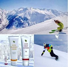 Top 3 products for the skier or snowboarder Aloe Lips, Forever Living Business, Forever Aloe, Forever Living Products, Aloe Vera, Skincare, Weight Loss, Personal Care, Live