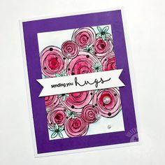 Sending You Hugs byHelenG - FS563 at Splitcoastampers
