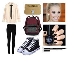 """""""Orchid files"""" by mylittlepokemon on Polyvore featuring H&M, Max Studio, Victoria's Secret and Elizabeth Arden"""