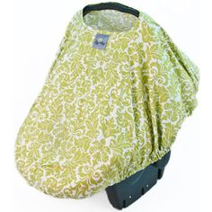 Itzy Ritzy Peek-A-Boo Pod  Absolutely the best infant car seat cover I've ever found. My baby sleeps so well when she's in this, and best of all, random kids' and strangers' hands are shut off!! Pretty good wind, sun and light rain cover as well.
