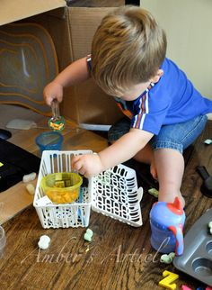 """All for the Boys"" Toddler Activities"