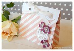 Verpackung   Gastgeschenke   Geschenktaschen á la Alexandra - Papers & Stamps
