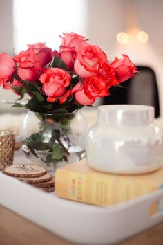 Coffee Table Tray + Decor for Real Life - Fresh Mommy Blog