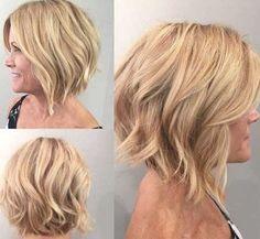 25+ Latest Short Hair Styles for Women Over 50