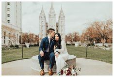 Salt Lake Temple wed