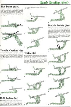 Crochet Stitches Instructions For Beginners : ... on Pinterest Crocheting, How To Crochet and Crochet Patterns