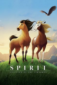 spirit. the bravest and strongest horse. As a young child I was so OBSESSED with this film I Would prance around ( like a horse) to the cd with the songs from the movie on it! Still to this very day... Spirit and Rain are  my favorite horses