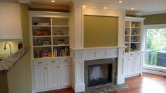 "IKEA fireplace ""built-ins"""