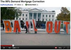 Video here: www.youtube.com/watch?v=N2wiCT150lw     New program to help you homeowners using underwater house loans.