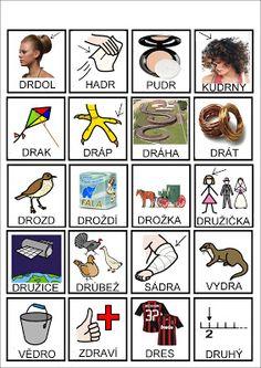 Tak TROCHU ... jiný svět: Logopedie - úkoly