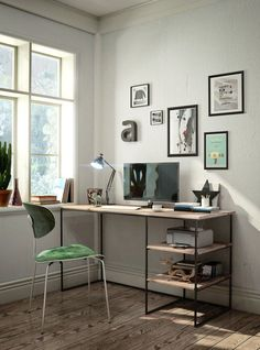 Adorable Plywood Desk Design Ideas For Home Office 01 natur Home Office Design, Home Office Decor, Office Furniture, Furniture Design, Home Decor, Wood Furniture, Furniture Styles, Cheap Furniture, Furniture Buyers