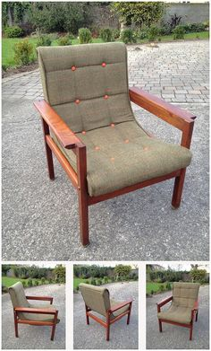 You lovers of vintage and retro chairs, are in for many a treat over the coming weeks, and months. I love a lot of things about mid century design, but my passion is for chairs. Parker Knoll Chair, Knoll Chairs, Lounge Chairs, Furniture Upholstery, Upholstered Chairs, Upholstery Cleaner, Small Living Room Chairs, Scandinavian Dining Chairs, Lounge Chair Design