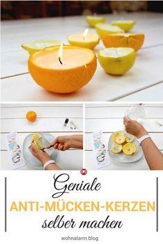 Mücken? Können dich mit den Anti-Mücken-Kerzen nicht mehr ärgern. Schau dir unser DIY an und mach im Handumdrehen deine eigenen Kerzen.