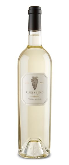 Valvin Muscat 2011, A dry style white wine from Creekbend.