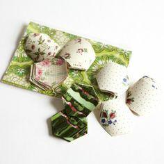 Sarah Moore Shop - paper hexagons