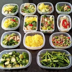 A No-Fail Meal Plan: It's true what they say: losing weight is 80% diet and 20% exercise. Prepping your meals in advance will help you stay on track. Don't rely on willpower to keep you from stopping at the fast-food joint after a busy day. Grab your groceries for the week in one shopping trip, cook three or four dishes, and place them in Tupperware so you can just grab and go!