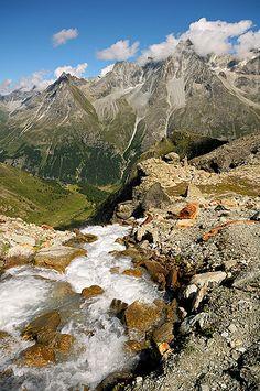 Mountain around Arolla, Valais, Switzerland