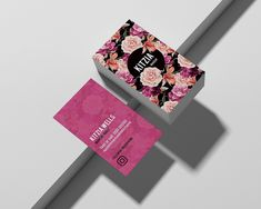 Kitzia EDITABLE TEMPLATE double sided business card