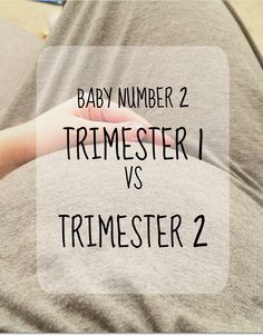 A little blog post comparing trimester 1 with trimester 2.
