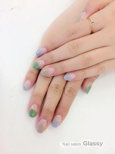 短い爪も◎ほっこりかわいい丸フレンチネイルカタログ - Locari(ロカリ)