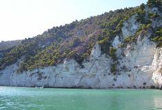 Tratto di costa fra Mattinata e Vieste - Gargano - Puglia