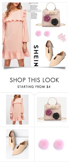"""""""Shein 4/IV"""" by mirelaaljic ❤ liked on Polyvore featuring WithChic and Obsessive Compulsive Cosmetics"""