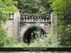 lostplaces - vergessene orte: Volkmarshausen - Eisenbahntunnel