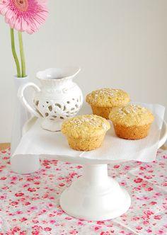 Orange and oat muffins