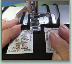 How to make woven Brown Scapulars - ROSARY MAKERS GUIDE