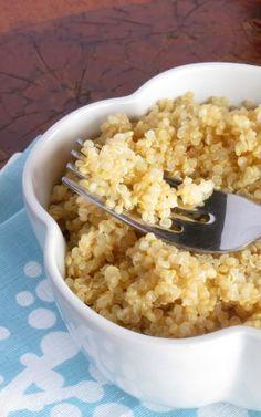 FLUFFY Pressure Cooker Quinoa