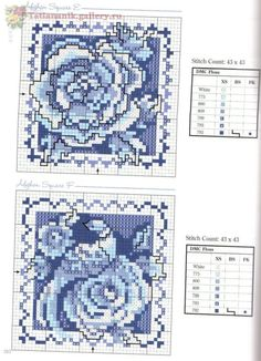 cross stitch - more free pattern on website ; Biscornu Cross Stitch, Cross Stitch Love, Cross Stitch Cards, Cross Stitch Flowers, Counted Cross Stitch Patterns, Cross Stitch Designs, Cross Stitching, Cross Stitch Embroidery, Delft