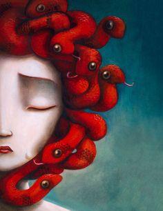 Medusa #illustration #medusa