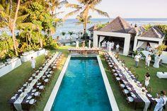 Romantic + Elegant Bali Wedding