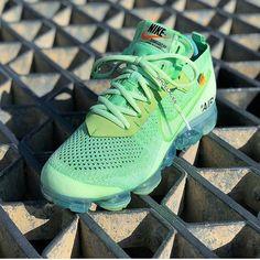 "71d2df5c012b Off-White x Nike on Instagram  """"NEON-GREEN"" 🍏"""