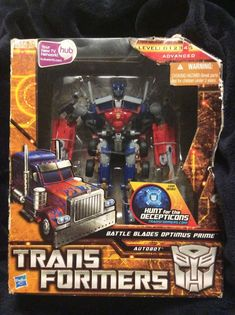 Transformers Voyager Class Battle Blades Optimus Prime, Hasbro 2010 #Hasbro #toys #transformers #optimusprime
