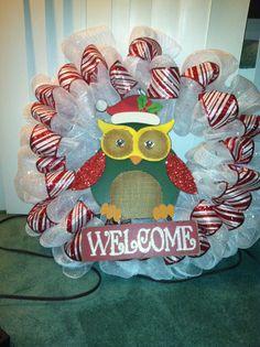 DIY tulle wreath