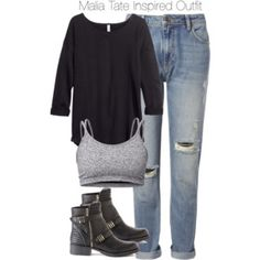 Teen Wolf - Malia Tate Inspired Outfit with requested sweater