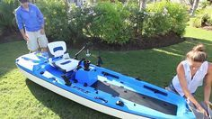 Cool Jet Powered Fishing Kayak Boat