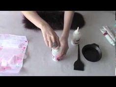 Как покрасить мех в домашних условиях ? - YouTube